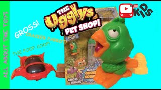 THE UGGLYS PET SHOP Cracker Parrot All About The Toys