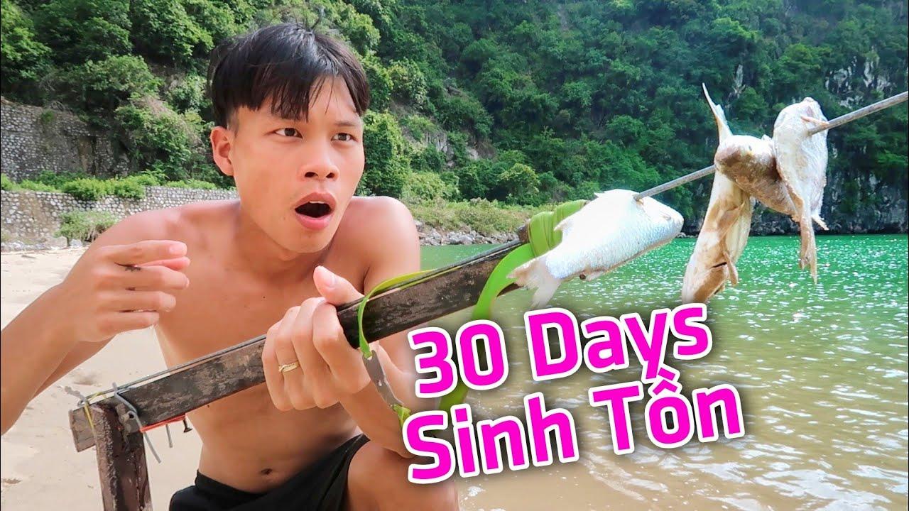 30 Ngày Sinh Tồn Rừng Ngập Mặn #1 - Lạ Vlog Bẫy Cua Biển Trên Đảo Hoang ( Crab Trap)