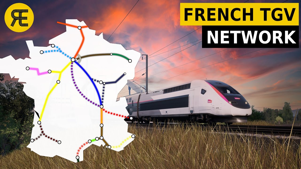 Introduction to French High-Speed Rail Network: Famous TGV
