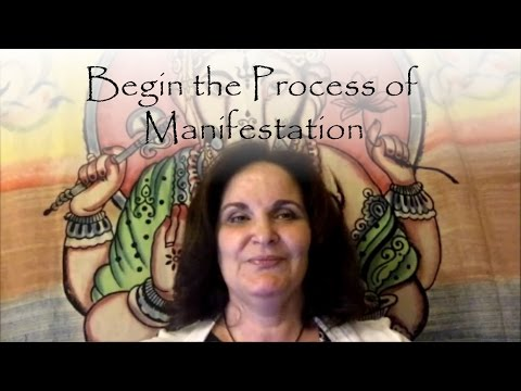 Mantra to initiate the process of manifestation