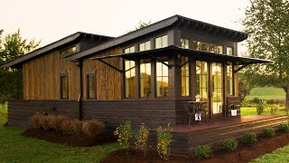 World's Most Beautiful Saltbox Cottage For Sale by Designer Cottages | Tiny House Big Living