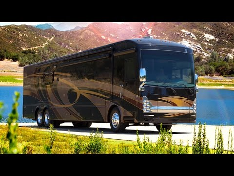 RV Reviews: 2015 Tuscany Luxury Diesel Motorhomes (Class A Diesel Pushers)