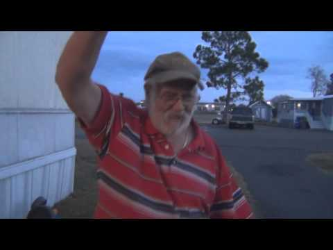 Angry Grandpa - Falls off the roof!