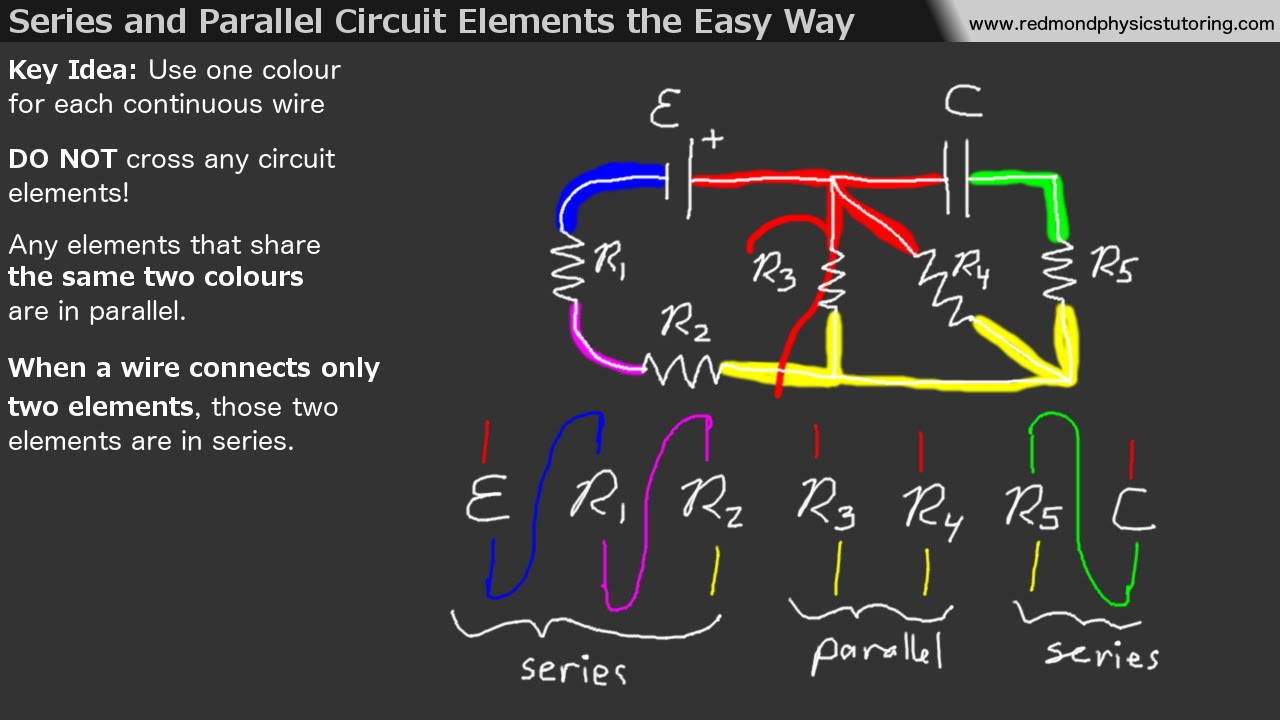 Series and    Parallel       Circuit       Elements    the Easy Way  YouTube