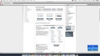 Java (JDK) herunterladen und installieren