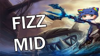 League of Legends - Fizz Mid - Full Gameplay Commentary