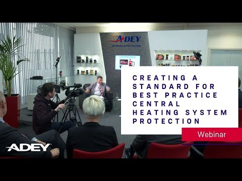 Creating a standard for best practice central heating system protection