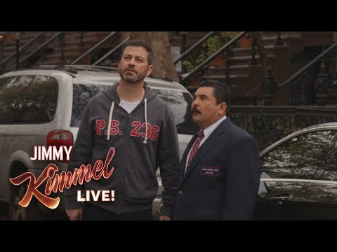 Jimmy Kimmel & Guillermo Break a Celebrity's Window