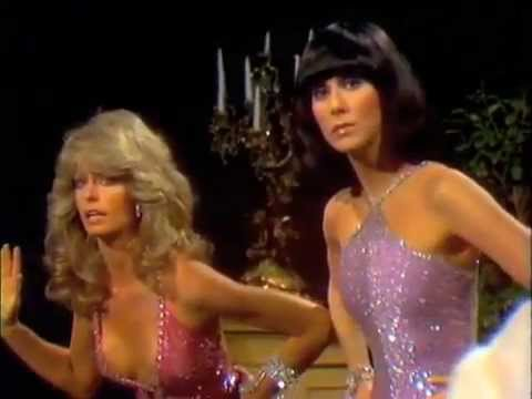 Farrah Fawcett and Cher  SONNY AND CHER