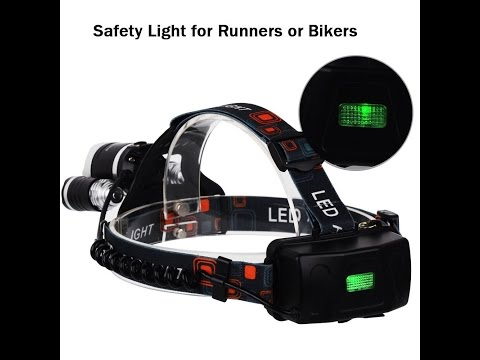 InnoGear 5000 Lumen Bright Headlight Headlamp