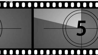 Repeat youtube video Old Movie Countdown Timer - After Effects v1