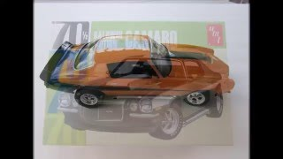 AMT 1/25 scale 1970  Baldwin Motion Camaro Final