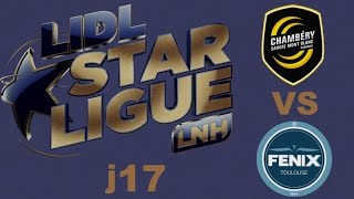 Chambéry VS Toulouse Handball LIDL STARLIGUE j17