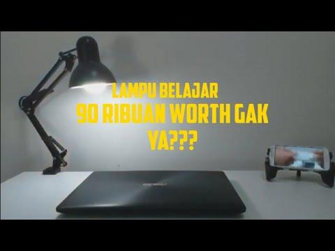 Aesthetic Gak Perlu Mahal Review Lampu Belajar Arsitek Lesindo Youtube