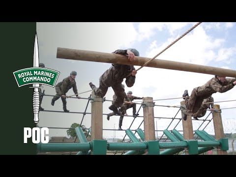 Royal Marines Potential Officer Course - Day 2