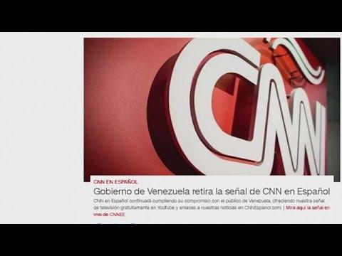 У Венесуелі заборонили мовлення CNN