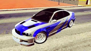Making NFSMW M3 *timelapse* - Car Parking Multiplayer