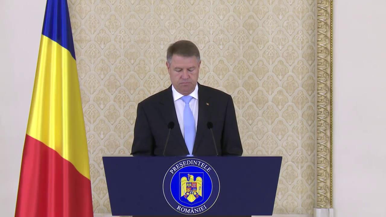 Klaus Iohannis cere demisia premierului Viorica Dancila