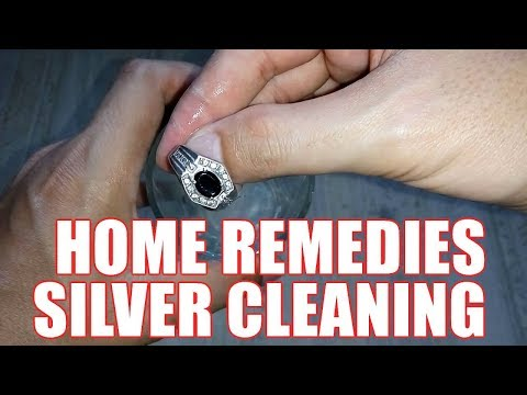 How to Clean Silver Jewelry at Home - Best Way for Tarnished Silver Ring Cleaning