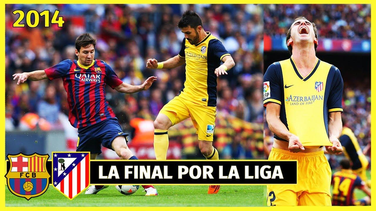 El Día que BARCELONA y ATLÉTICO de MADRID se jugaron la Liga en el Camp Nou 🏆 (2014)