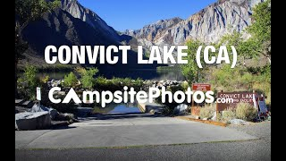 Convict Lake Campground, Inyo National Forest, California