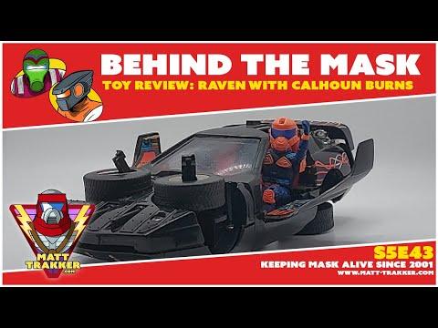 Toy Review: Raven with Calhoun Burns - S5E43