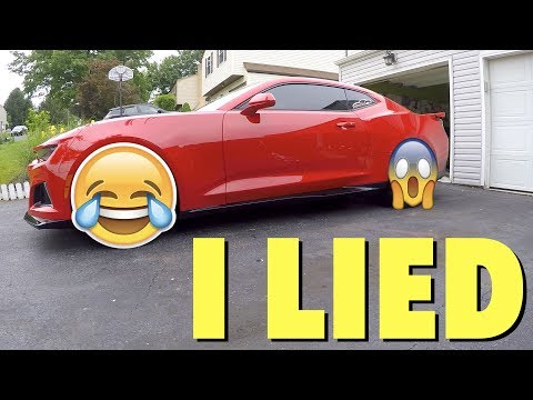 Thumbnail: I CAN'T BELIEVE I Did THIS To My 2017 Camaro ZL1!!!
