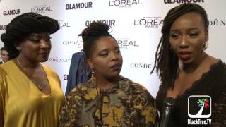 Black Lives Matter (BLM) Founders at Glamour Women of the Year Awards 2016