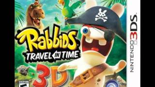Rabbids Travel in Time 3ds Music: Timeline