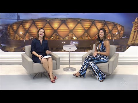 "Vivian Amorim, vice-campeã do BBB 17, no ""Amazonas TV"" (17/04/2017)"