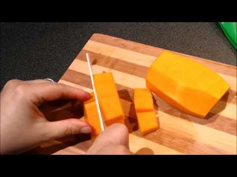 Cutting Squash to freeze