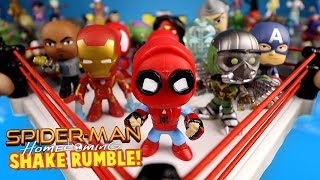 Spider-Man Homecoming Movie Shake Rumble Match // RUMBLE LEAGUE
