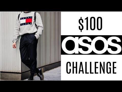 $100 ASOS Outfit Challenge | Men's Fashion 2018 | Daniel Simmons