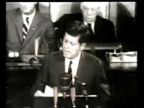 1961: Kennedy Speech to Congress