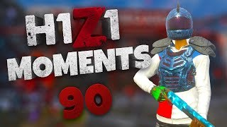 H1Z1 - BEST MOMENTS AND STREAM HIGHLIGHTS #90
