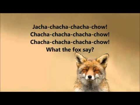 What does the fox say Lyrics