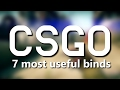 CS:GO - The 7 most useful binds ever (2017)