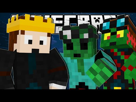 Thumbnail: Minecraft | THE MONSTER KING!! | Monster Maze Minigame