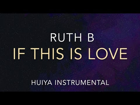 [Instrumental/karaoke] Ruth B - If This is Love (Piano ver ) [+Lyrics]