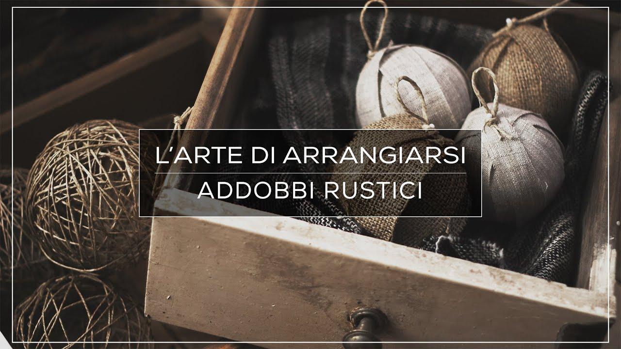 3 idee per fare degli addobbi di natale rustici l 39 arte for Alberelli da esterno