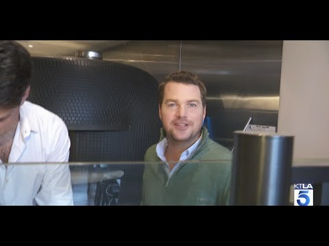 Making Pizza with Chris O'Donnell