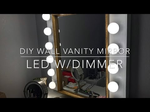 DIY your own expressions vanity mirror/how to