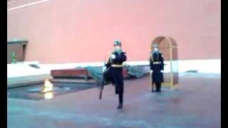 cambio della guardia, cremlino, piazza rossa
