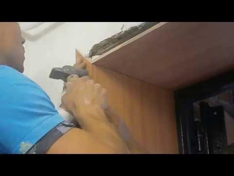 КАК СДЕЛАТЬ ДВЕРНЫЕ ОТКОСЫ из ламинированного добора. Этапы монтажа дверных откосов