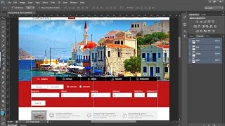 How to Create Website in Photoshop Part 1 - Photoshop Hindi Tutorial Design Website