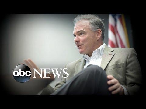 Hillary Clinton, Tim Kaine Debut as Running Mates