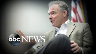 Hillary Clinton, Tim Kaine Debut as Running Mates