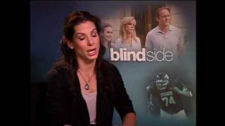 THE BLIND SIDE Interviews -- Sandra Bullock, Tim McGraw, Quinton Aaron and more!