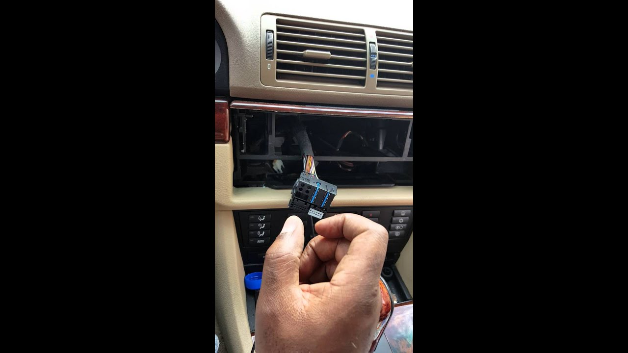 e39 radio wiring free download gmc sierra radio wiring free download aftermarket radio install 525i e39 wiring harness - youtube #1