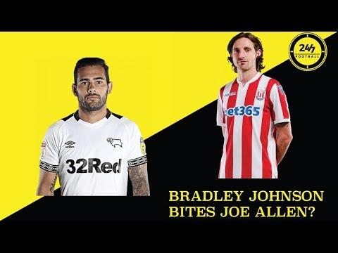 DID BRADLEY JOHNSON BITE JOE ALLEN?